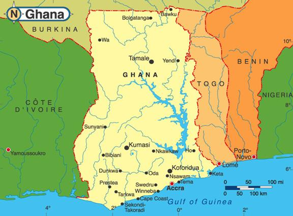 This image has an empty alt attribute; its file name is Ghana-Map1.jpg